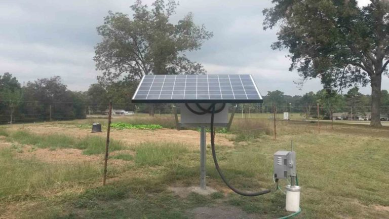 Simple Pump Customer Installation LBLD with Solar 4