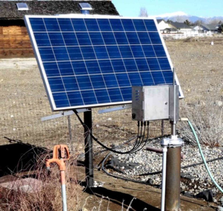 Simple Pump Customer Installation Solar Pump