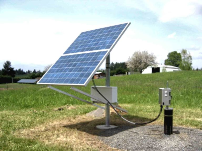 Simple Pump Customer Installation Solar Pump Pasture